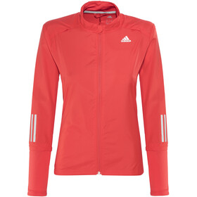 adidas Response Running Jacket Women red